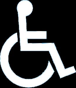 Logo acces handicape